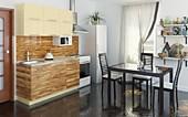 Цена на кухню № 90 Дюна Пластик Глянец 35000 р. Цена по Акции за весь гарнитур 27500 руб.