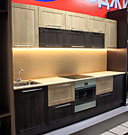 Цена кухню № 67 Дуб Сонома 37000р. Цена по Акции за весь гарнитур  29000 руб.