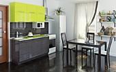Цена на кухню № 76 Мэри 32264 р. Цена по Акции за весь гарнитур 25000 руб.