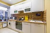 Кухонный гарнитур №248 пластик/белый. Цена: 39600 руб.