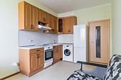 Кухонный гарнитур №242 МДФ/фреза/бежевый. Цена: 42400 руб.