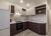Кухонный гарнитур №217 пластик/глянец верх/древесный низ. Цена: 49800 руб.