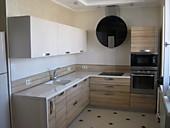 Кухонный гарнитур №228 пластик/глянец/светл. Беж/светл зибрано. Цена: 48700 руб.