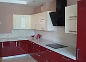 Кухонный гарнитур №224 пластик/глянец/красный/белый. Цена: 57400 руб.