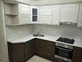 Кухонный гарнитур № 240 МДФ/фреза/белый/коричневый.. Цена: 39400 руб.
