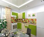 Цена на кухню № 166 Лилу - 32700 р. Цена по Акции за гарнитур 29200 руб.