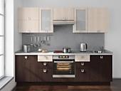 Цена на кухню № 176 Дуб и Ясень - 33488 р. Цена по Акции за гарнитур 29350 руб.