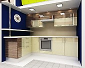 Цена на кухню № 146 Зебрано беж. - 46665 р. Цена по Акции за гарнитур 39800 руб.
