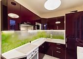 Кухонный гарнитур №200 пластик/глянец/бордо. Цена: 72800 руб.